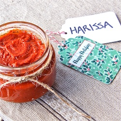how to make harissa, spicy sauce, moroccan cooking