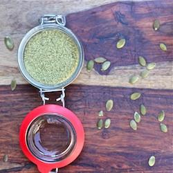 how to make pumpkin seed meal