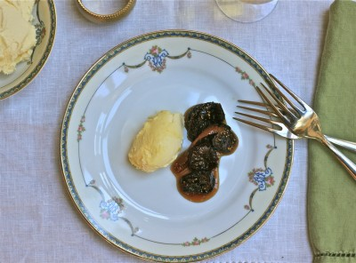 Brandied Figs with Orange Mascarpone