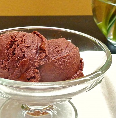 Mexican Chocolate Sorbet