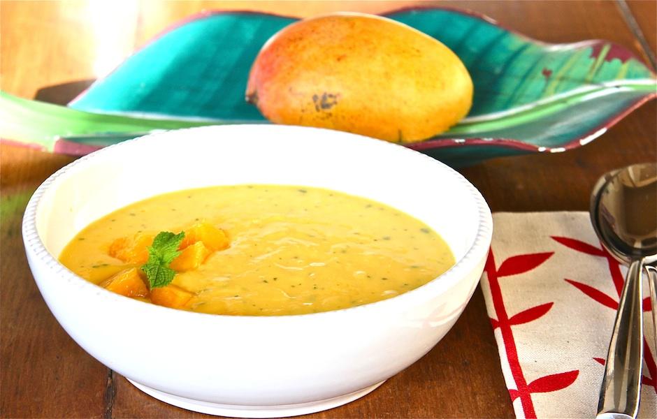 Bowl of Mango Sunshine