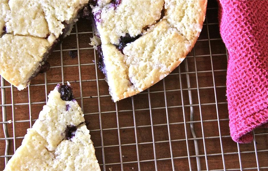 Blueberry Buttermilk Corncake