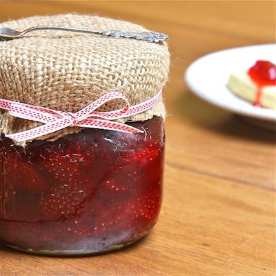 Strawberry Balsamic Jam