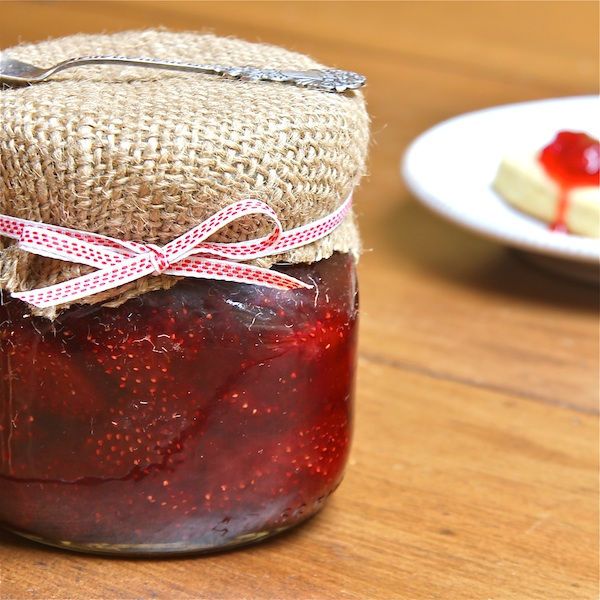 Strawberry Balsamic Preserves : The Wimpy Vegetarian