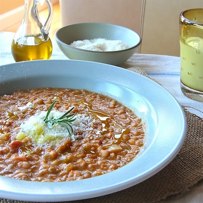 Tuscan Bean Soup : The Wimpy Vegetarian
