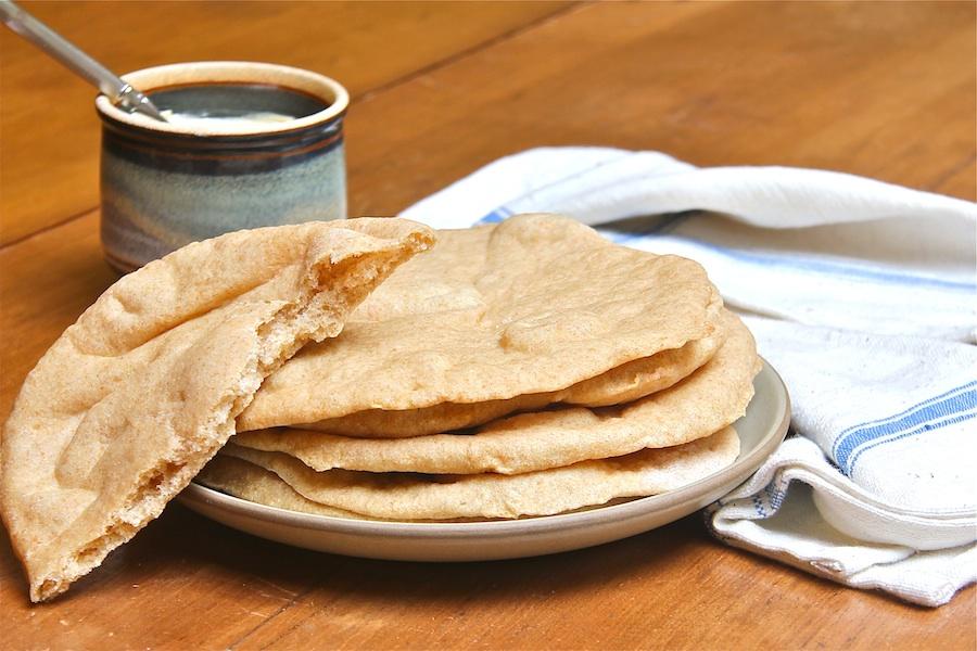 Whole-Wheat Pita Bread