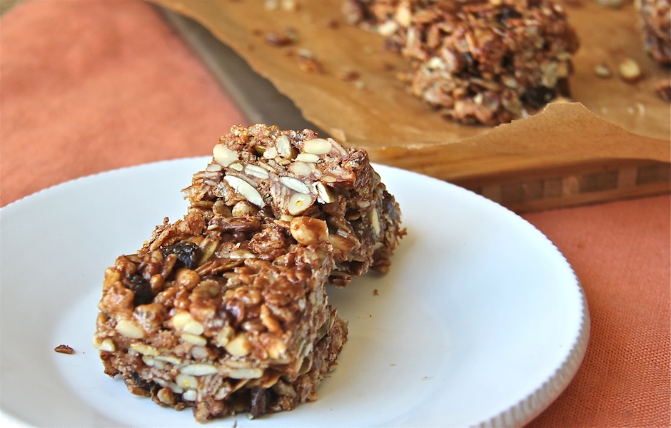 Granola Bars: #SundaySupper