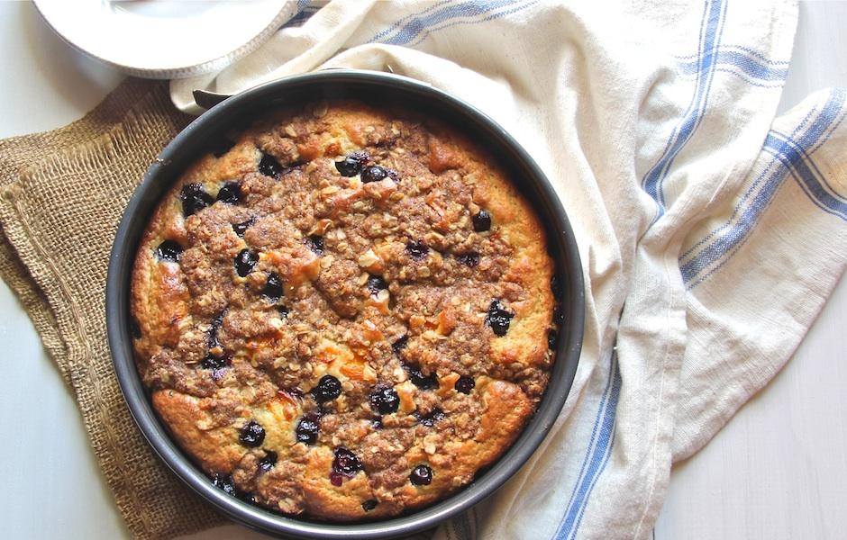 My Best Blueberry Coffee Cake