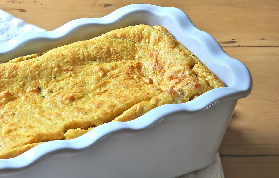(Gluten-Free) Pumpkin Pie Spoon Bread