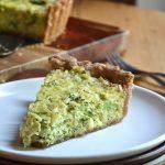 Broccoli - Cheddar - Quinoa Casserole Tart The Wimpy Vegetarian