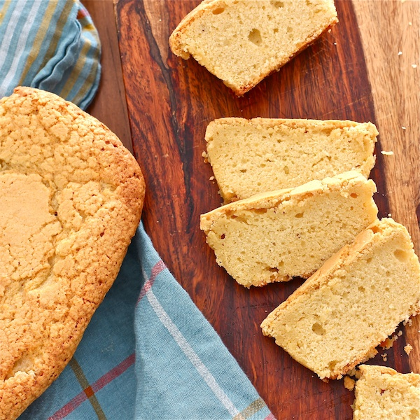 easy sour cream pound cake with maple and tangerine - The Wimpy Vegetarian