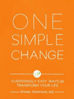 One Simple Change by Winnie Abramson