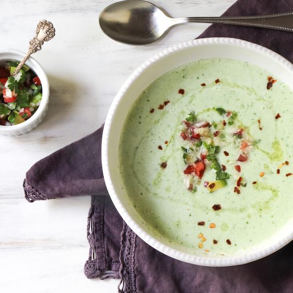 cucumber watercress soup gazpacho