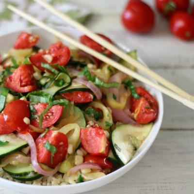 Summertime Vegetarian Stirfry 009a