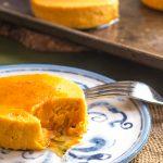 Lightened Maple Carrot Flan