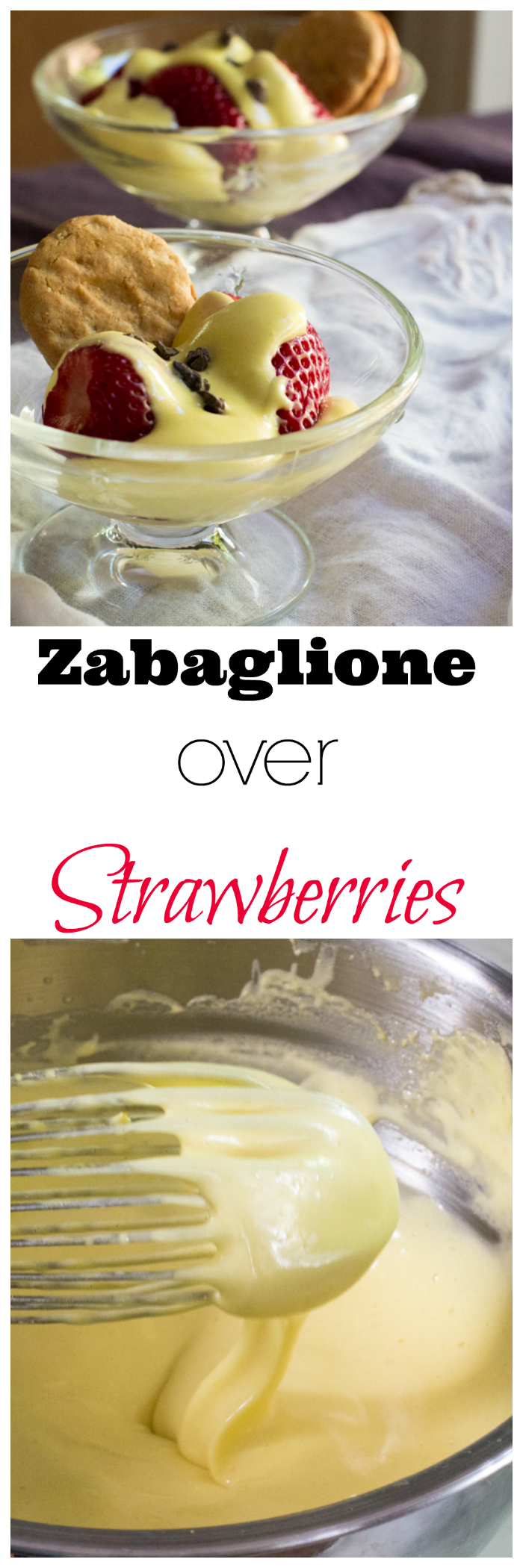 Step-by-step instructions on how to make zabaglione, a light and frothy custard dessert popular in Italy.