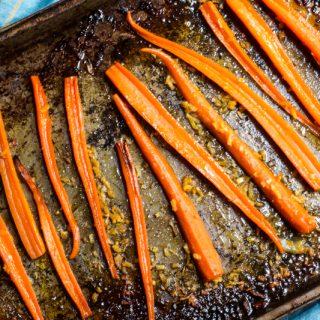 Citrus Ginger Carrots
