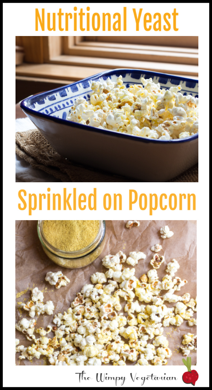 how to get nutritional yeast to stick to popcorn