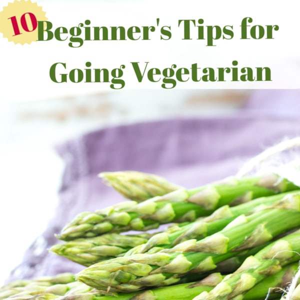10 Tips on how to go vegetarian